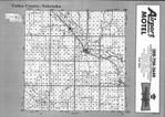Index Map, Valley County 1993